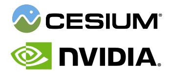 Cesium and NVIDIA sponsors